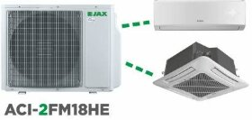 Мульти сплит-система Jax ACI-2FM18HE на 2 комнаты (комплект)