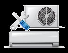 Монтаж сплит-системы мощностью до 2.7 кВт