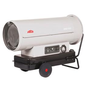 Мобильный жидкотопливный нагреватель воздуха FRICO HDD46 прямого нагрева