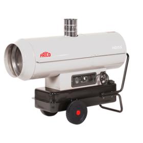Мобильный жидкотопливный нагреватель воздуха FRICO HDI85 непрямого нагрева