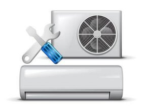 Монтаж сплит-системы мощностью до 3.5 кВт