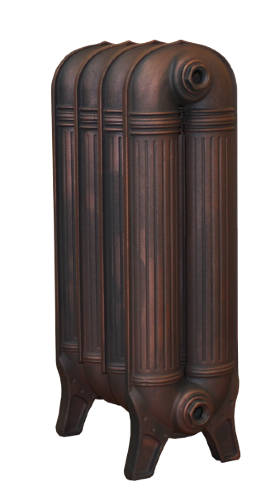 Чугунный радиатор  RETROstyle Preston - 5 секций