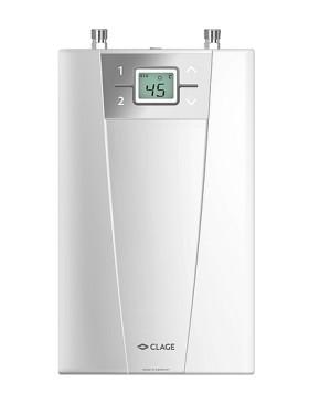 Проточный электрический водонагреватель Clage CEX 11/13U